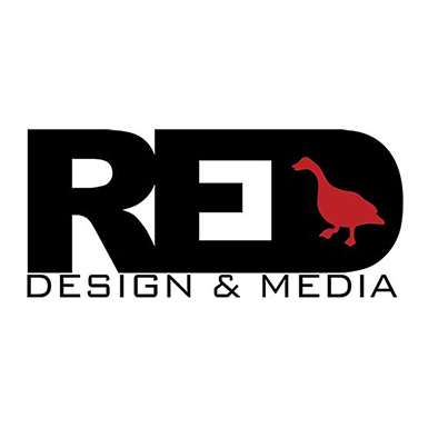 Red Goose Design & Media Logo
